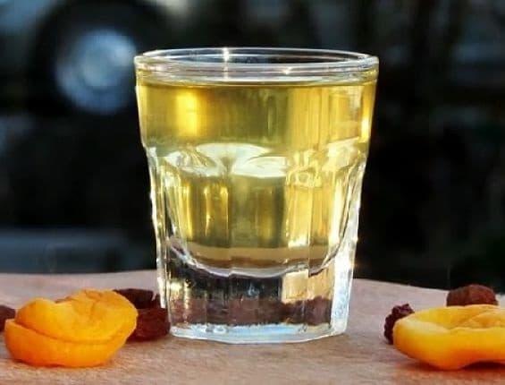 алкоголь из кураги