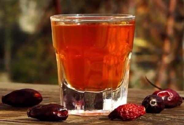 алкоголь из шиповника