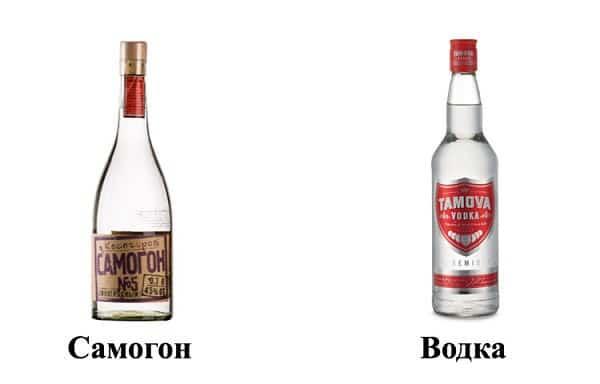 водка и самогон