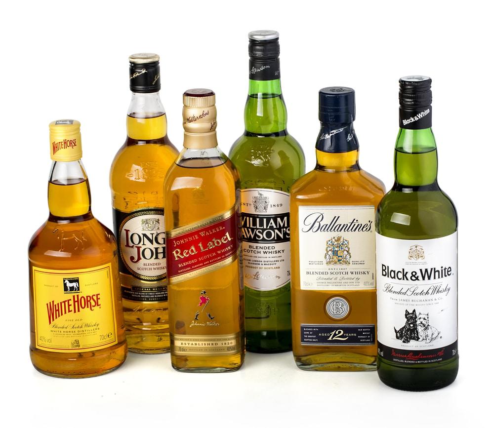Виды виски
