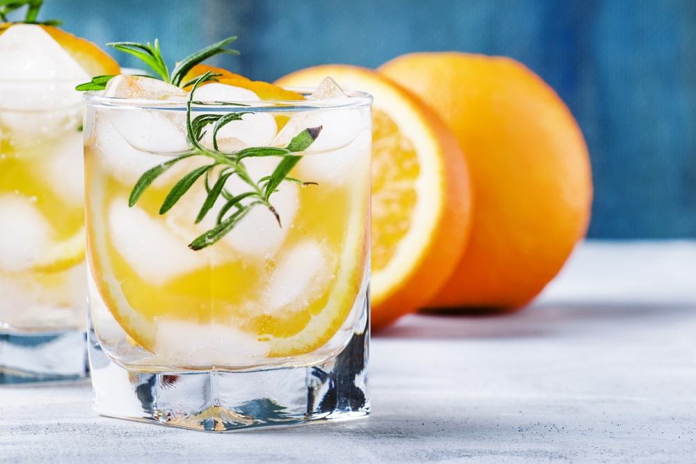 Спиртовая апельсиновая настойка