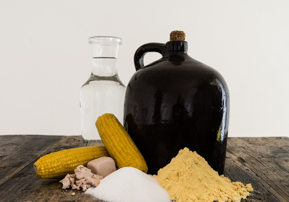 Брага из кукурузы