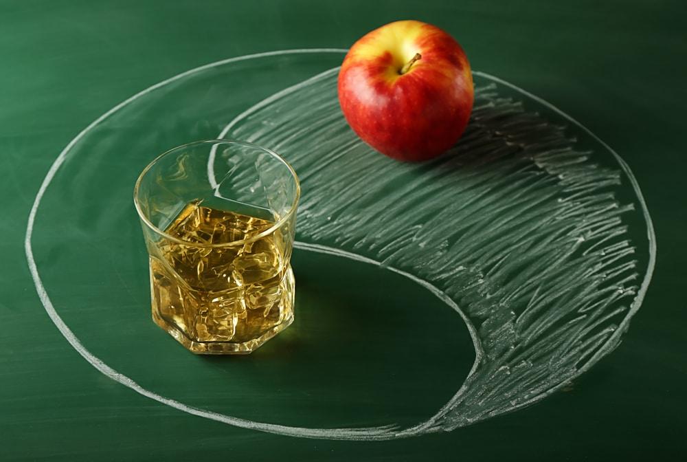 Пропорции виски с яблочным соком